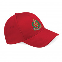 Embroidered Classic Red Baseball Hat