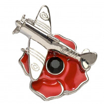 Spitfire Pin Brooch