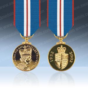 Queens 2002 Golden Jubilee Medal