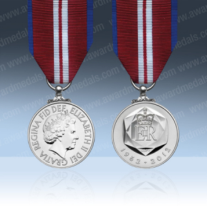 2012 Queens Diamond Jubilee Full Size Medal Loose