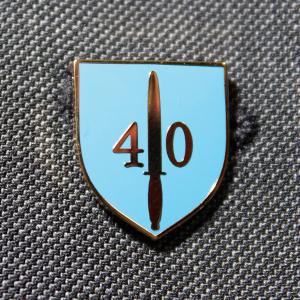 40 Commando Lapel Badge