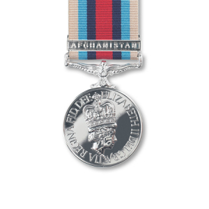 OSM Afghanistan With Afghanistan Clasp Miniature Loose