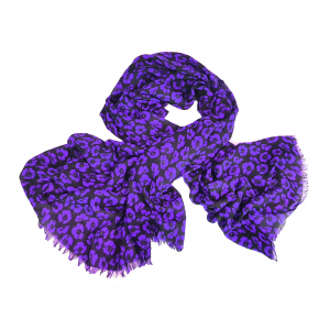 Purple Poppy Scarf