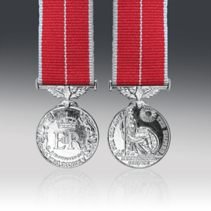 British Empire Miniature Medal EIIR Military