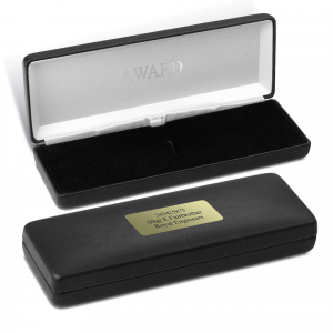 Personalised Black Medal Case