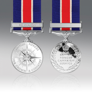 British Forces Campaign Full Size Medal