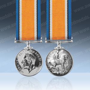 British War Miniature Medal