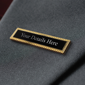 Clasp Style Lapel Pin