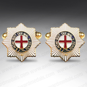 Coldstream Guards Shield Style Cufflinks