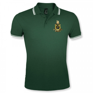 Double Tipped Polo Shirt Green/White