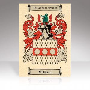 Family Crest Scroll Print
