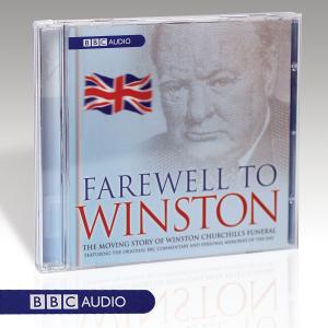 Farewell to Winston Single Audio Book CD