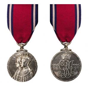 1935 Silver Jubilee (GV) Miniature Medal Loose