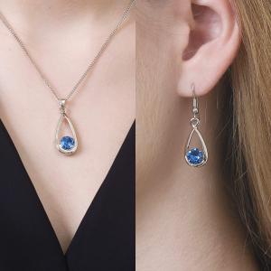 Majestic Sapphire Jewellery Set
