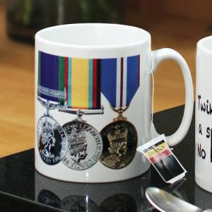 Military Medal Mug