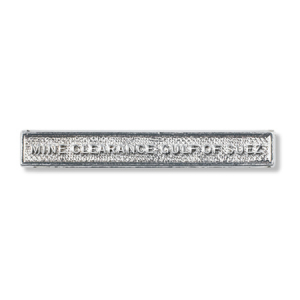 Mine Clearance Gulf of Suez Clasp