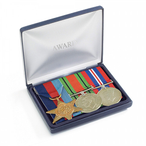 Personalised Medal Storage Case for 2-3 Medals or 1 Bow