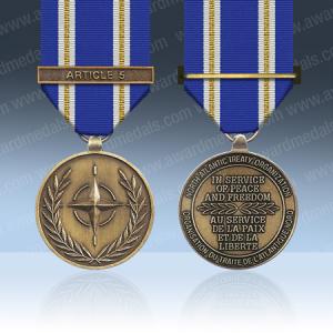 NATO Active Endeavour Miniature Medal Loose