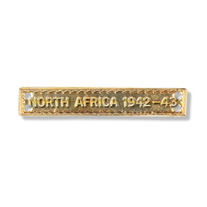 North Africa 1942-43 Bar