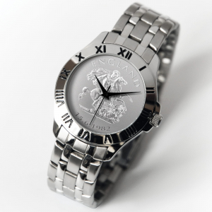 English Patriot Watch Silver Bracelet