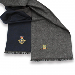 Charcoal Grey Personalised Scarf