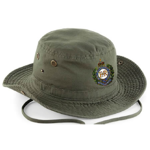 Olive Green Personalised Outback Hat