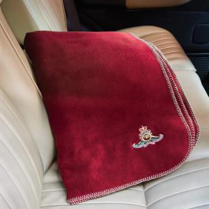 Personalised Red Fleece Blanket