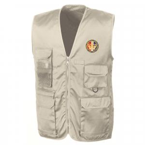 Personalised Camel Safari Waistcoat