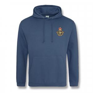 Personalised Air Force Blue Hooded Sweatshirt