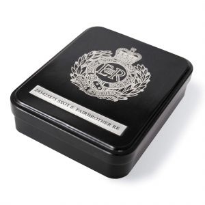 Leather Wallet In Engraved Presentation Tin