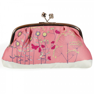 Pink Poppy Silk Purse