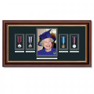Queens Longest Reign Framed Commemoration