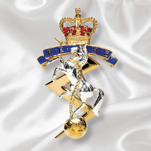REME Sterling Silver Brooch