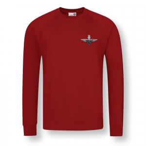 Personalised Sweatshirt Claret
