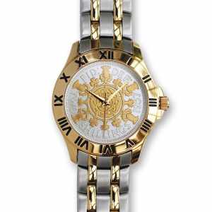 Two-Bob Watch With Two-Toned Coin & Two-Toned Bracelet