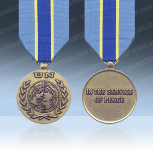 UN Congo (MONUC) Medal Full Size Loose