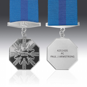The Commemorative Uniform Service Medal