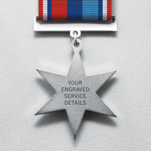 Medal Back Engraving