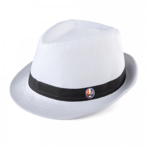 Fedora White Small/Medium