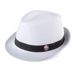 Fedora White Large/XL