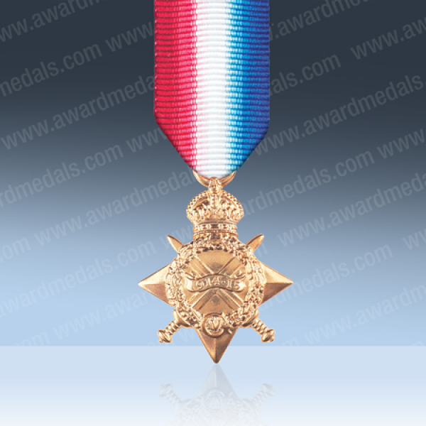 1914-15 Star Miniature