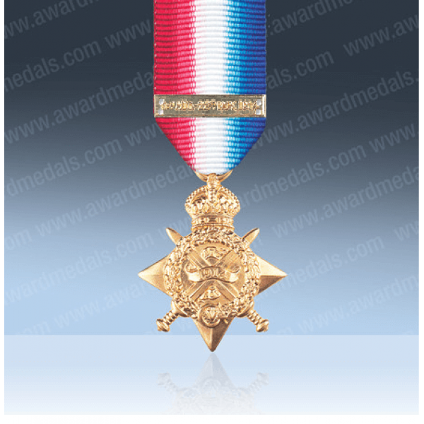 1914 Star With Clasp Miniature Loose