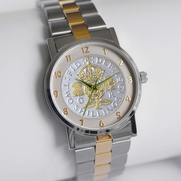 1951 Two-toned Florin with Two-Toned Bracelet