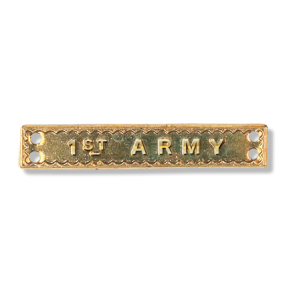 1st Army Bar Full Size