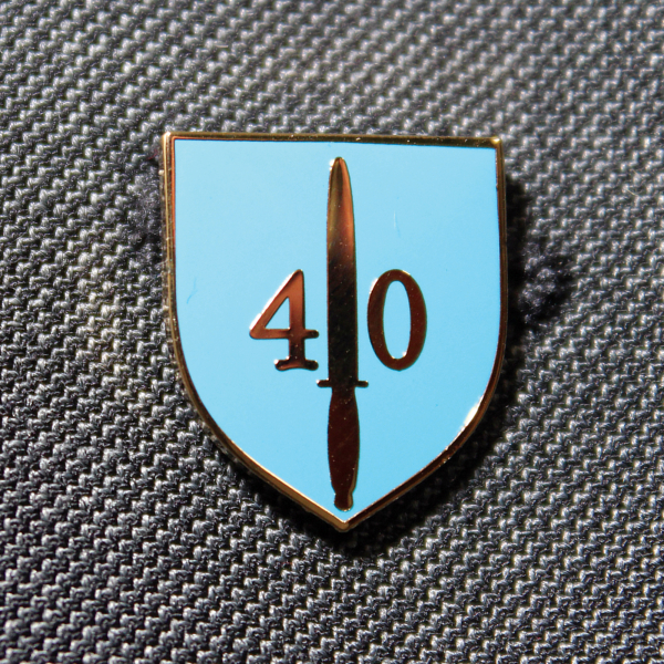 40 Commando Lapel Badge