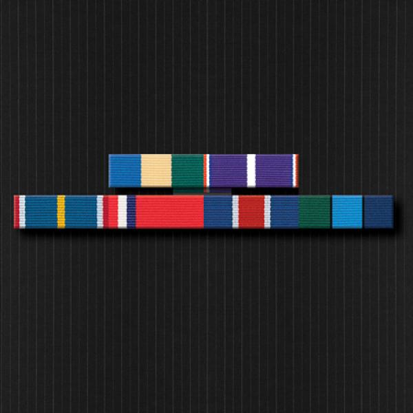 Ribbon Brooch Bar with Six Ribbons