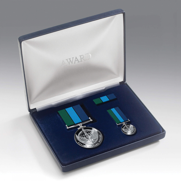 Allied Special Forces Medal Presentation Set