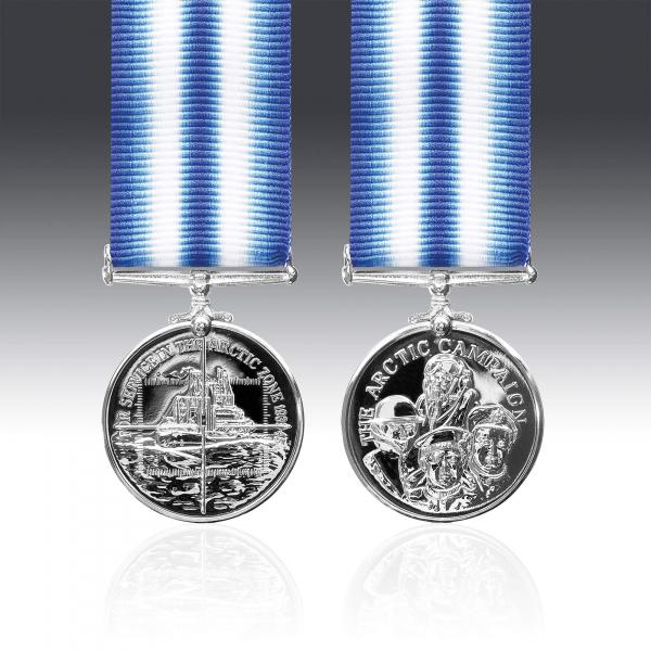 Miniature Arctic Campaign Medal