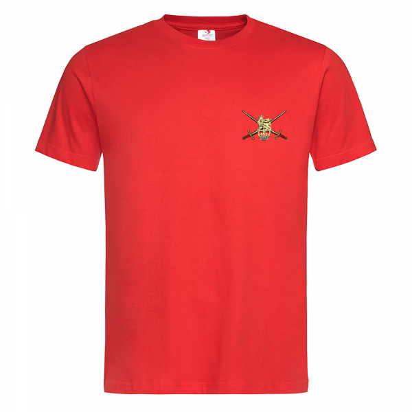 EMBROIDERED RED T-SHIRT