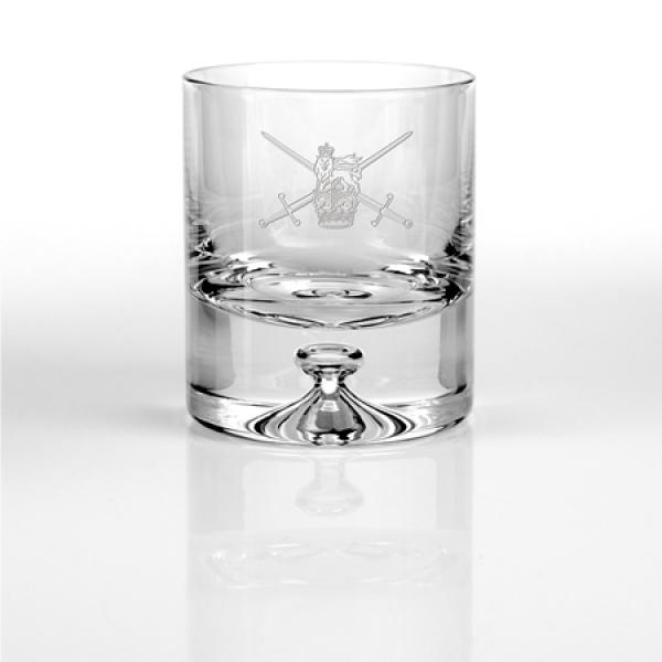 Engraved Crystal Tumbler